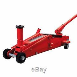 3 Ton Trolley Jack SUV Height Extender Floor Lift Car Truck Heavy Duty Steel