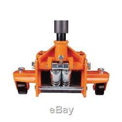 4 Ton Heavy Duty Steel Floor Jack with Rapid Pump Lift Car Vehicle Garage Shop