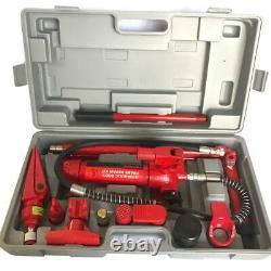 4 Ton Porta Power Hydraulic Jack Autobody Frame Repair Heavy Duty