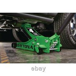 4 Ton Professional Floor Jack Heavy Duty With Rapid Pump Lift Truck 1 2 3 NEW