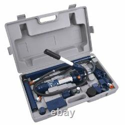 4 Ton Torin Portable Power Hydraulic Jack Auto Body Frame Repair Kits with Case