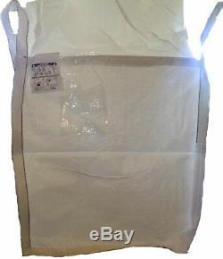 50 Brand New Bags Heavy Duty Bulk Bag 35x35x50 FIBC (Sack) Ton bag 4000LB SWL