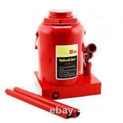 50 Ton Hydraulic Bottle Jack 100000lb Lift HEAVY DUTY Automotive Car Compact