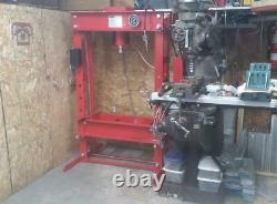 50 Ton Press Hydraulic Heavy Duty Floor Shop Press New