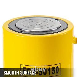 50 Tons 6'' Stroke Single Acting Hydraulic Cylinder Jack Ram Heavy Duty