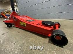 5Star 3 Ton Heavy Duty Steel Ultra Low Profile Floor Jack Quick Pump Lifting Car