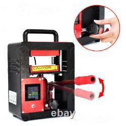 5 Ton 2.4 x 4.7 Rosin Heat Press Machine Dual Heating Elements Heavy Duty 220V