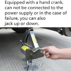 5 Ton Automotive Electric Car Jack Lift Van Garage 140mm-430mm 12V DC Heavy Duty