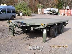 5 Ton MILITARY SURPLUS TRAILER extremely heavy duty