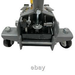6000lb 3 Ton Steel Heavy Duty Floor Jack Low Profile for Garage Shop Home