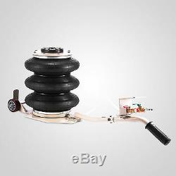 6600LBS 3 Ton Triple Bag Air Jack Pneumatic Jack Adjustable Lifting Jack Stands