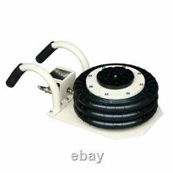 6600lbs Triple Bag Air Jack 3 Ton Lifting Jack Pneumatic Jack Heavy Duty Jacking