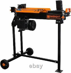 6.5-Ton Electric Log Wood Splitter 15 Amp Kindling Ax Cutter Firewood Chopper