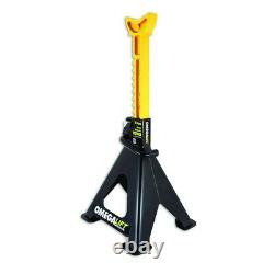 6 Ton Axle Stands Heavy Duty Dual Lock Double Pin Ratchet Axles Omega 3206701