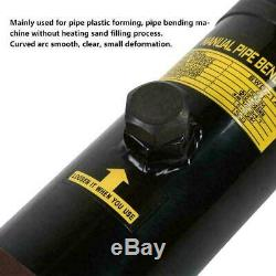 6 Ton Heavy Duty Hydraulic Pipe Bender Tubing Exhaust Tube Bending with 6 Dies New