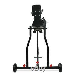 7 Ton Heavy Duty Electric Log Splitter+Stand Horizontal Hydraulic Wood Cutter