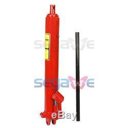 8 Ton Heavy Duty Long Ram Hydraulic Jack with lift range from 25'' to 44'