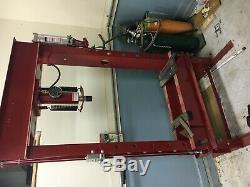 ARCAN HEAVY DUTY 40-TON HYDRAULIC H-FRAME SHOP PRESS 2 SPEED model Winch (CP400)