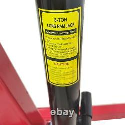 A+2-TON 4400lb Heavy Duty Engine Motor Hoist Cherry Picker Shop Crane Lift Hot