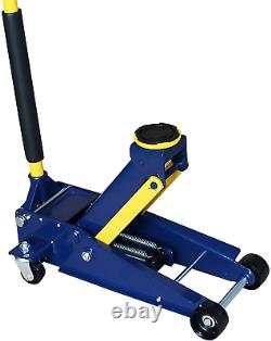 Aain Heavy duty 3 Ton Floor Jack, Steel Hydraulic Service Jack Quick Rise With