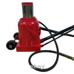 Air Hydraulic 50 Ton Bottle Jack Jacks Automotive Lift Tools Heavy Duty Truck