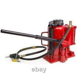 Air Hydraulic Bottle Jack 20 Ton Manual 40000lb HEAVY DUTY Auto Truck RV Repair