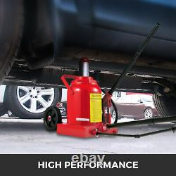 Air Hydraulic Bottle Jack 50 Ton Manual 100000lb HEAVY DUTY Auto Truck RV Repair