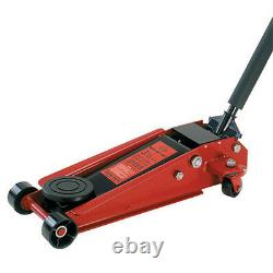 American Forge & Foundry 350SS Heavy Duty Floor Jack 3-1/2 Ton, Double Pumper