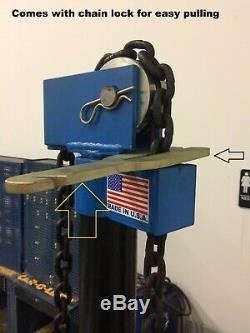 Auto Body Hydraulic Pulling Post USA Made 10 Ton 10 Inch Stroke Best U Can Buy