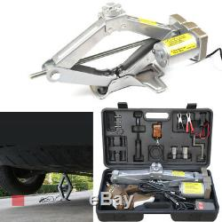 Automatic 5 Ton Electric Jack Scissor Lift Garage Vehicle Tire Repair Hot