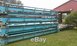 Avery Weightronix Steel Deck Heavy Duty 93 x 10 Truck Scale, 100 ton gross cap