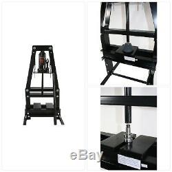 BLACK BULL Shop Press 6-Ton A-Frame Heavy-Duty Welded Steel 12,000 lb. Capacity