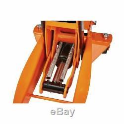 BRAND NEW! 3 ton steel heavy duty floor jack with rapid pump