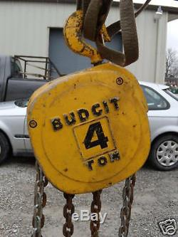 BUDGIT Heavy Duty 4 TON Manual Hand Chain Hoist 50