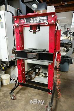 Big Red 50 Ton Hydraulic Heavy Duty Floor Shop Press