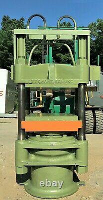 Bolling 250 Ton Heavy Duty 4 Post Hydraulic Platen Press