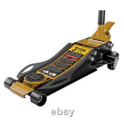CAT 3 Ton Low Profile Service Jack Built in Foot-Pump Heavy- Duty Durable New
