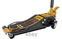 CAT 3 Ton Low Profile Service Jack Heavy Built Foot Pump Floor Duty Fast Lift