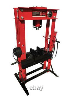 CMT 40655 45 Ton Floor Shop Press Heavy Duty Air and Manual Operation