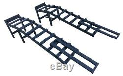 Car Rams Super Heavy Duty 3,5 Ton 34 cm Hight with Extensions SUV Van Pair