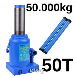 Car Van Lorry Heavy Duty 50 Ton Tonne 50t Hydraulic Floor Bottle Jack 50000 KG