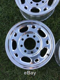 Chevy 2500 HD 16 8 Lug Factory OEM Gmc Duramax Diesel 4x4 Wheels Rims 5079 Set