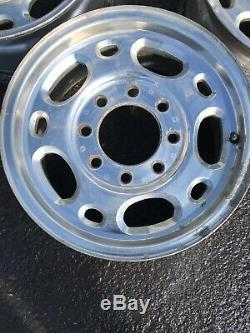 Chevy 2500 HD 16 8 Lug Factory OEM Gmc Duramax Diesel 4x4 Wheels Rims 8 x 6.5