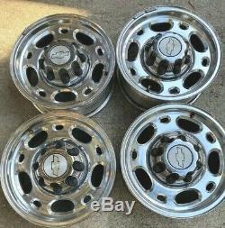 Chevy GMC 2500HD 16 8 Lug OEM Duramax Diesel 4x4 Wheels Rims Centercaps