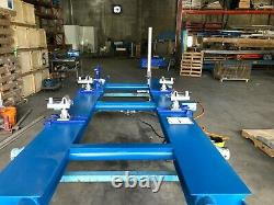 Chief Continental Flat Rack 2 Ten Ton Towers New Pinch Weld Clamps New Pumps