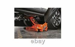 DAYTONA 3 Ton Low Profile Heavy Duty Steel Rapid Pump Floor Jack (4 Colors) New