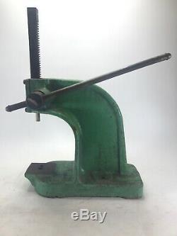 Dake Arbor Press No. Y Heavy Duty 1-1/2 Ton 321 Ratio Made in USA