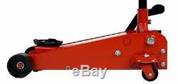 Dragway Tools 3-1/2 Ton Heavy Duty Hydraulic Shop Floor Jack Car Garage Lift