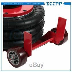 ECCPP 3 Ton Triple Bag Air Jack 6600LBS Quick Lift Heavy Duty Jacking Tire Shop