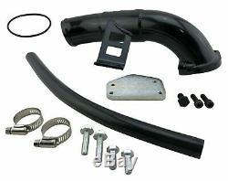 EGR Delete Kit & Hi FLow Intake for 2004.5-05 GMC Sierra 6.6L Diesel LLY Duramax